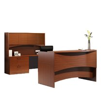 Brighton Series 4-Piece U-Shape Desk Office Suite