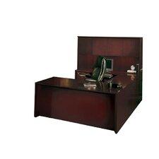 Corsica Series U-Shape Desk Office Suite