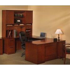 Sorrento Series Typical #8 Standard Desk Office Suite