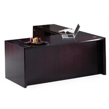Corsica Series L-Shape Desk Office Suite