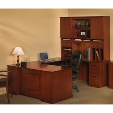 Sorrento Series Typical #7 Standard Desk Office Suite