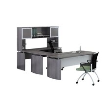 Medina Series U-Shape Desk Office Suite