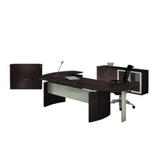 Medina Series L-Shape Desk Office Suite