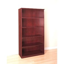 "68"" H Five Shelf Bookcase"