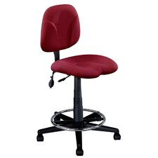 Height Adjustable Task Drafting Chair with Swivel