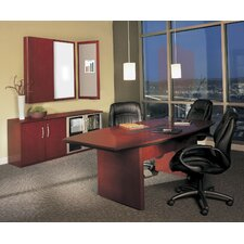 "<strong>Mayline Group</strong> Corsica 7"" Standard Desk Office Suite"
