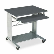 "Empire Mobile PC Station 29.75"" W x 23.5"" D Computer Table"