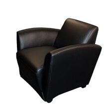 <strong>Mayline Group</strong> Santa Cruz Leather Mobile Lounge Chair