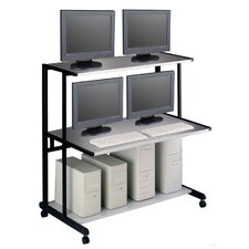 "NetStart LAN Support Stations: 48"" W LAN Station"