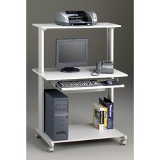 Crosswinds Small Office/Home Office: Mobile Multimedia Computer Worktable