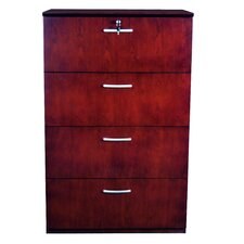 Corsica Series 4-Drawer Lateral File