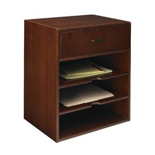 "Sorrento Series 19.75"" H x 17.5"" W Desk Hutch"
