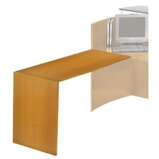 "Napoli Series 28.75"" H x 38"" W Desk Return"
