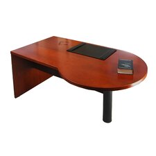 "Mira Series 29.38"" H x 72"" W Left Desk Peninsula"