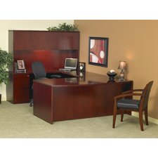 Luminary Series U-Shape Desk Office Suite