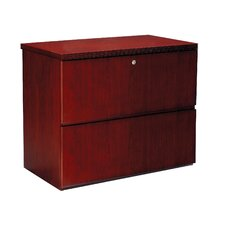 Luminary Lateral File Cabinet with Finished Top