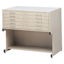 C-Files Five Drawer Filing Cabinet