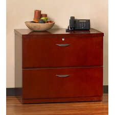 <strong>Mayline Group</strong> Mira Lateral File Cabinet with Unfinished Top