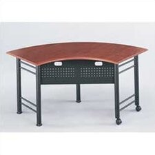 "Conclave: 67"" x 24"" Crescent Meeting/Training Table"