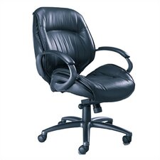 <strong>Mayline Group</strong> Ultimo Premier Mid-Back Office Chair with Arms