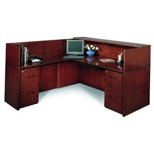 "<strong>Mayline Group</strong> Corsica 72"" W Reception Desk (Left Configuration)"