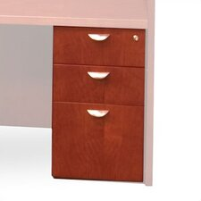Mira 3-Drawer Desk Pedestal