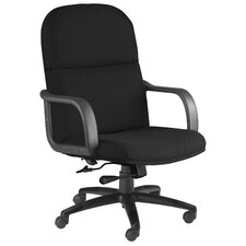 Comfort Mid-Back Office Chair with Arms