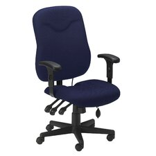 Comfort High-Back Executive Chair with Arms