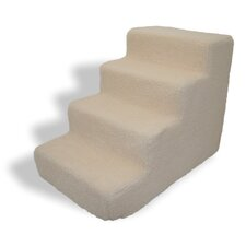 Lambswool 4 Step Pet Stair