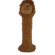 Lion Log Plush Dog Toy
