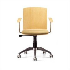 Mid-Back Zag Moves Swivel Chair