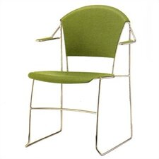 <strong>Source Seating</strong> Forma Stacking Chair with Arms