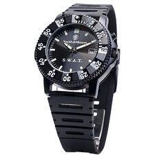 S.W.A.T. Men's Round Face Watch
