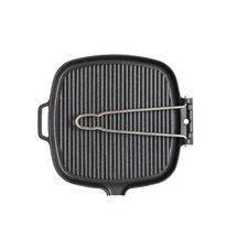 "<strong>Chasseur</strong> ""Smooth Base"" Square Grillpan with Wire Handle"