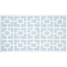 Labyrinth Blue Kids Rug