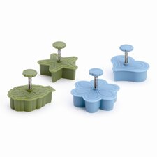Signature Tools 4-Piece Pie Press Cutter Set