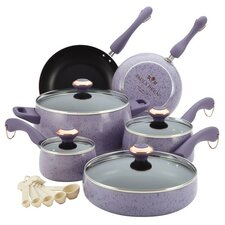 Signature Porcelain 15-Piece Cookware Set