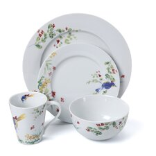 Spring Medley 16-Piece Dinnerware Set