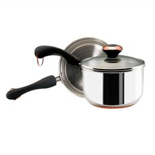 <strong>Paula Deen</strong> Stainless Steel 2-qt. Double Boiler with Lid