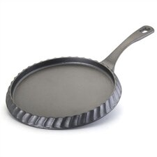 "Signature Cast Iron 11"" Hoe Cake Pan"