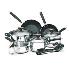 Signature Stainless Steel 12 Piece Cookware Set