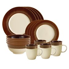 Signature Dinnerware Southern Charm 16 Piece Dinnerware Set