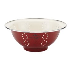 Signature Enamel on Steel 5-qt. Colander