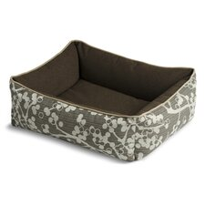 Bumper Style Cherries Donut Dog Bed