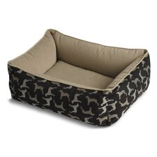 Bumper Style Rotator Donut Dog Bed