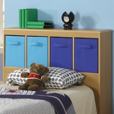 Boy's Twin Bookcase Headboard