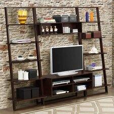 Arlington Bookcase with Entertainment Center