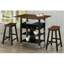 Phoenix Kitchen Island Set