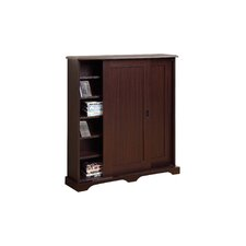Entertainment Sliding Door Multimedia Cabinet