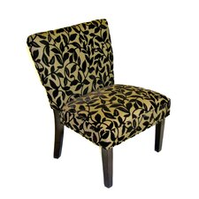 Oversize Velvet Slipper Chair